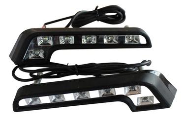 Dienos žibintai DRL2, 6 LED