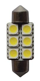 Automobilio lempa SV8,5 6 LED