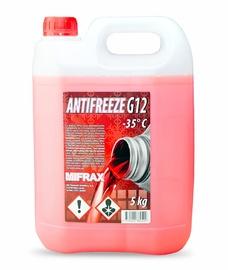 Jahutusvedelik Mifrax G12, punane, 5 kg