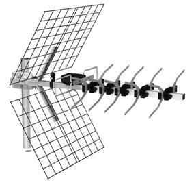 Lauko radijo antena Di-gi UHF-23EL-AP