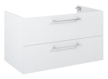 """Pakabinamoji spintelė su stalčiais """"Futura"""", 90cm, balta"""