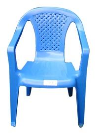 Vaikiška plastikinė kėdė Camelia, mėlyna
