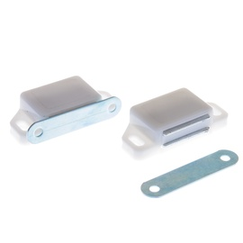 Mööblimagnet CL 3130, 58 mm, valge