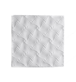 Klijuojamosios lubų plokštės Format Tape; 0,5 x 0,5 x 0,010 m.