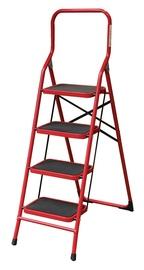 Plieninės kopėčios, 4 laiptelių, LFD152TA1