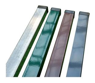 Stulpas, 40 x 60 x 2300 mm , sidabro spalvos