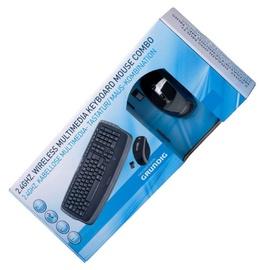 Bevielė klaviatūra ir pelė Grunding 52824