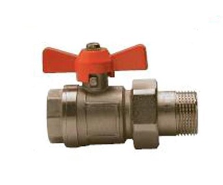 "Kolektorių ventilis ""TDM Brass"" 186, tiesus, 1 1 / 4, I / V"