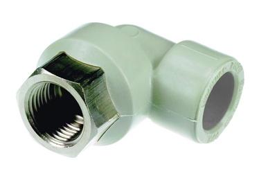Liitmik nurk PPR 20mm 1/2 sk 90°