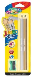 Pieštukai Colorino 51675PTR, 2 spalvų, su drožtuku