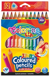 """Spalvoti pieškutai """"Colorino"""" Jumbo, 12 vnt."""