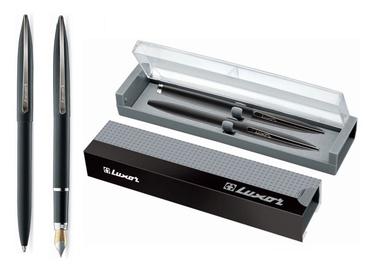 """Parkeris ir automatinis rašiklis """"Luxor"""" 8156-11021, juodas"""