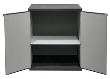 Sandėliavimo spinta, 68 x 39 x 85 cm, pilka