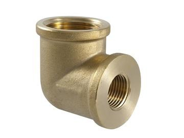 "Torupõlv 90° TDM Brass 200R, 3/4""x1/2"""