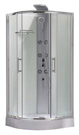 Masāžas dušas kabīne Novito K1871-1, 90x90x218 cm