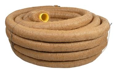 Drenažinis vamzdis Frankische D50/44 mm, su kokoso plaušų filtru