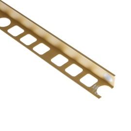 Apdailos juostelė, aliuminė, aukso spalvos, 1,2 x 250 cm