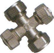 Ristliitmik TDM Brass 20 mm, alupex