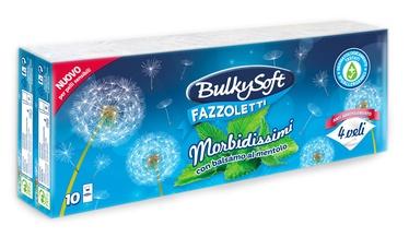 """Popierinės nosinaitės """"BulkySoft"""" Morbidissimi, 10 pak, 4 sl."""