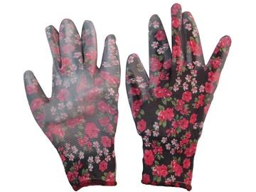 Töökindad lillelised naiste GA66 M must