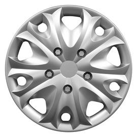 Dekoratīva Autoserio auto diska uzlika Anaconda R15 sudraba krāsā
