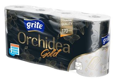 """Tuletinis popierius """"Grite"""" Orchidea Gold, 8 rulonai"""