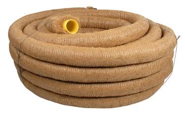 Drenažinis vamzdis Frankische D100/92 mm, su kokoso plaušų filtru