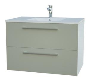 Vonios spintelė su praustuvu Raguvos baldai Allegro 11113408, 76 cm