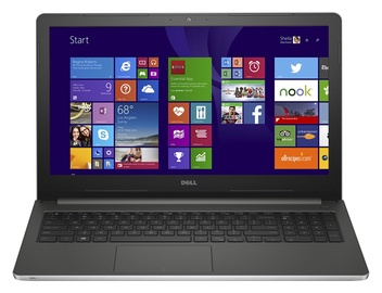 """Nešiojamasis kompiuteris """"Dell"""" Inspiron 15 5558 I5-5200U, pilkas"""