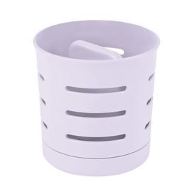 Söögiriistade kuivatustops Curver 204384, valge