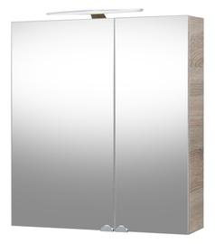Vonios spintelė Riva Elegance Sonoma SV60C-2, su veidrodžiu