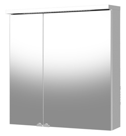 Vonios spintelė Riva Elegance SV70C, balta, su veidrodžiu