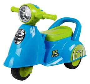 Paspirtukas-motoroleris, mėlynas