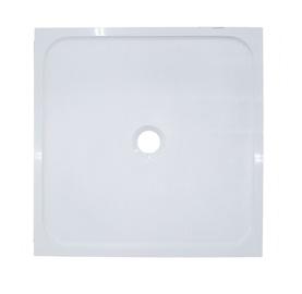 Kvadratinis dušo padėklas Marmite Domna 80x80x3,2 cm