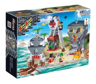 Konstruktorius Banbao 8708, piratai