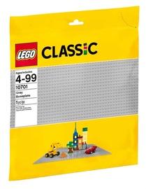 Konstruktorius LEGO Classic,Pilka pagrindo plokštė 10701