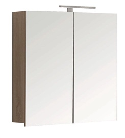 Pakabinamoji vonios spintelė Novito YBC161-080, su veidrodžiu