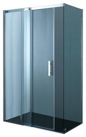 Dušo kabina Novito ASS3, 100x80x200 cm, be rėmų