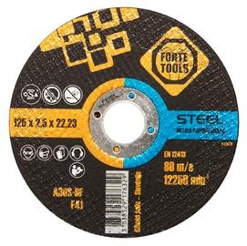 Pjovimo diskas Forte tools, 125x2,5x22,23 mm