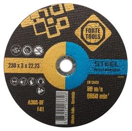 Pjovimo diskas Forte tools, 230x3x22,23 mm