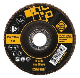 Žiedlapinis šlifavimo diskas Forte tools, 125x22,23 mm