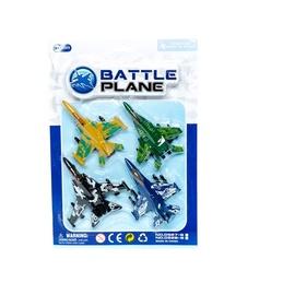 Žaislinis karinis lėktuvas 503100837, 4 vnt.