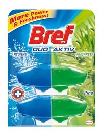 """Tualeto gaiviklis """"Bref"""" Pine, 2 x 50 ml"""