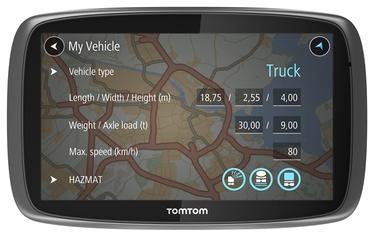 "Navigacija TomTom Trucker 6000 6"""