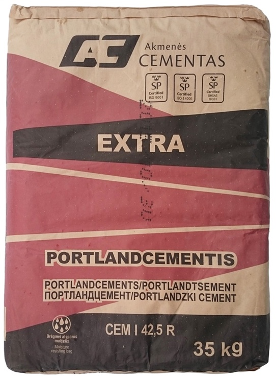 CEMENTS EXTRA CEM I 42.5 R 35KG