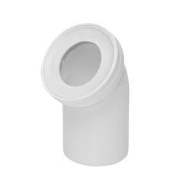 WC ühendus Tycner 172 110/45, 110 mm, valge