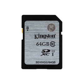 ATMINTIES KORTELĖ SDHC UHS-I 64GB KINGSTON
