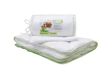 Vaikiškos patalynės komplektas Comco Aloe Vera, su antklode ir pagalve, antialerginis