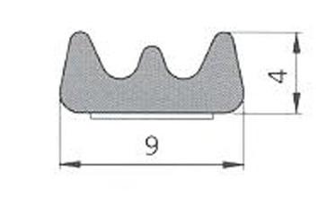 BLĪVLENTA E 9X4 SD-40CX/4E BALTA (SANOK)