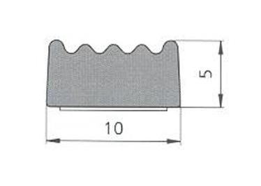 BLĪVLENTA SD-69 UNIVERS 10X5 MELNS (SANOK)